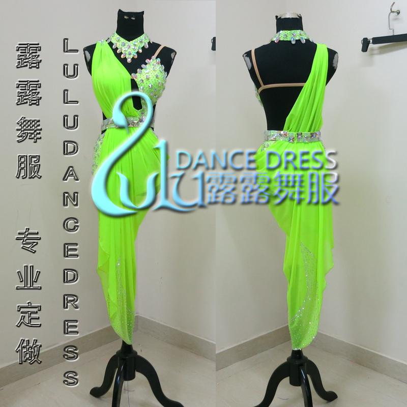 Competition fringe Latin dance dress,salsa dress,ballroom dress Rumba Chacha Ballroom Latin Dance Dress Girls WomenОдежда и ак�е��уары<br><br><br>Aliexpress