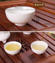 ON SALES 6pcs/lot Oriental Chinese dehua ceramic tea cup porcelain cup 60ml solid white china jingdezhen town cup kungfu tea cup(China (Mainland))