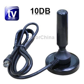 10DB DVB - T Digital HDTV TV Antenna Free Shipping