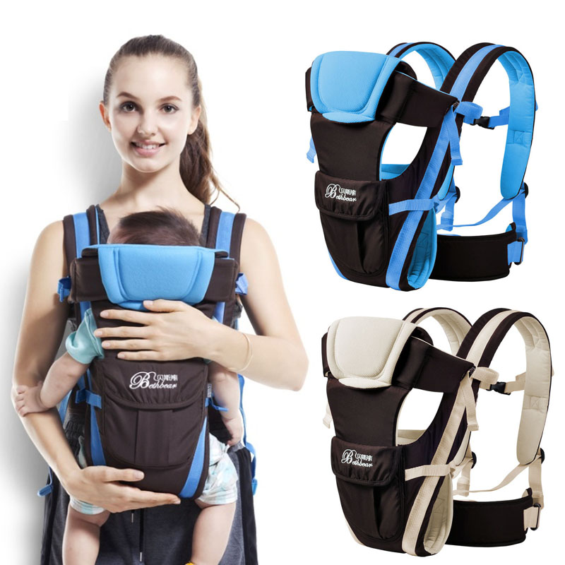 New ergonomic baby carrier Front Facing/Horizontal/Back Carry multifunctional baby sling backpack breathable baby kangaroo wrap<br><br>Aliexpress