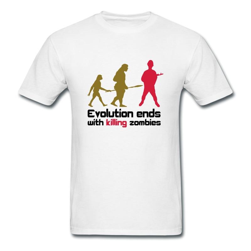 printed slim fit mens t shirt gamer funny logo t shirts