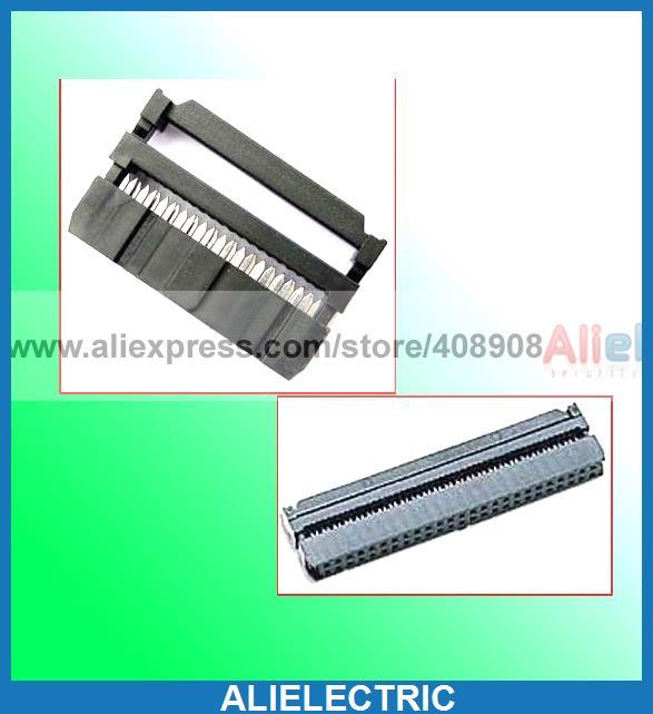100pc IDS Female 16 Pin 20 Pin 26 Pin 30 Pin IDC Socket<br><br>Aliexpress