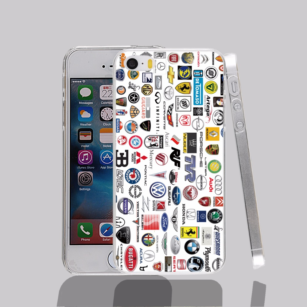 13137 ca brands names az transparent Cover cell phone Case for iPhone 4 4S 5 5S 5C 6 6S Plus 6SPlus(China (Mainland))