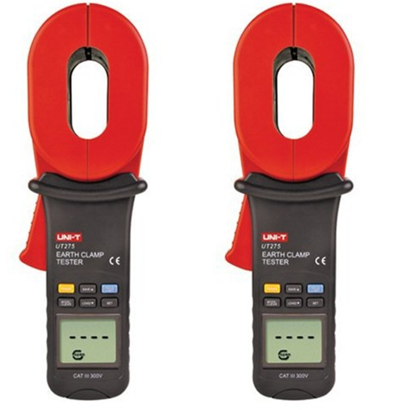 New Brand UNI-T UT275 Data Recall Clamp Earth Ground Resistance Testers 30 Data Logging Auto Calibration Function Fast Shipping(China (Mainland))