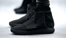 2016 winter new men 'leather boots, YEZ-305 750 All Black High quality dimming increase the size of 36 - 46 without the box boot(China (Mainland))