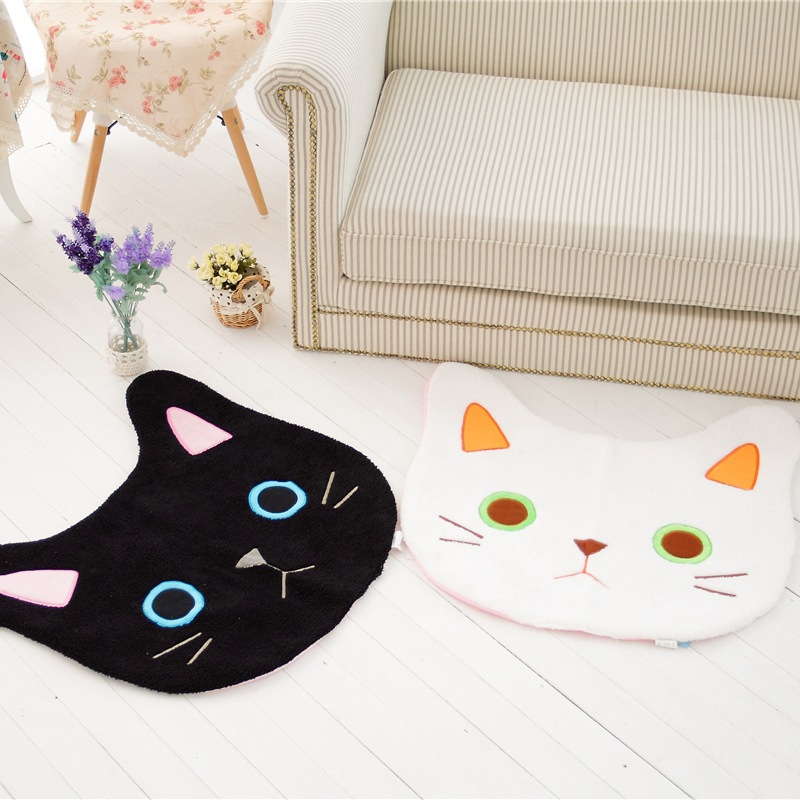 Lolita Plush Kitty 60cm Cute Soft Lop Cat Plush Carpet Couple Kitty Princess Sweet Decoration Loppy Kitty Children's Gift(China (Mainland))