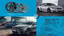 """SET OF 4 19"""" LONG RUNNING CLASSIC M SERIE STYLE ALUMINUM  ALLOY WHEELS RIMS FIT M3 M4 M5 M6 3 4 5 6 SERIES AND MANY MORE(China (Mainland))"""