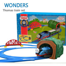 Big size Hot Wheels Thomas And Friends Trains Set Toys Kids Toys For Boys Electric Rail Thomas Train Set Trackmaster(China (Mainland))