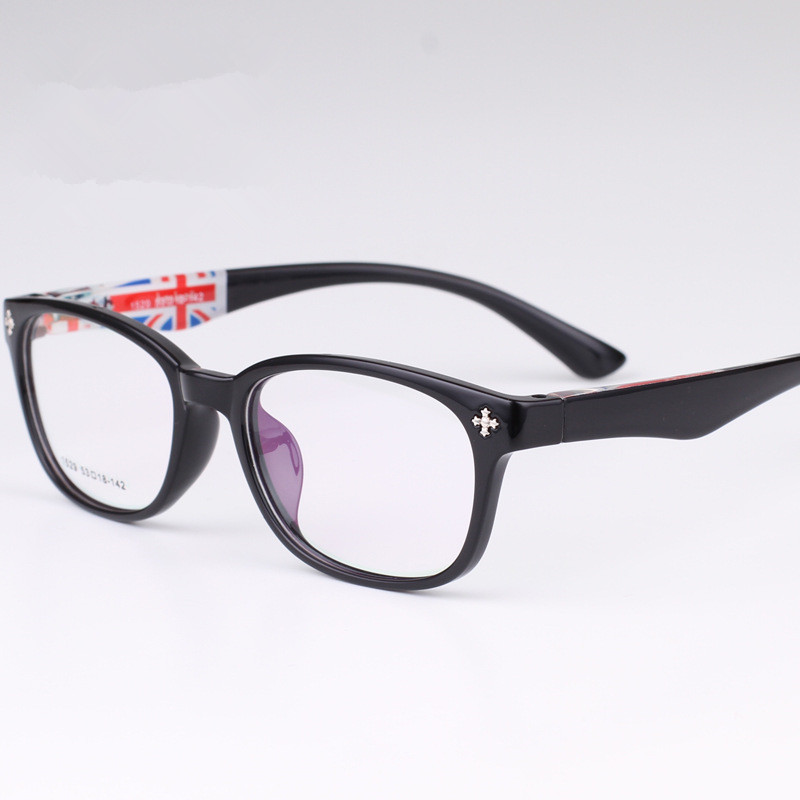 Glasses Frames Us : Round UK and US Flag Eye Glasses Frame Prescription ...