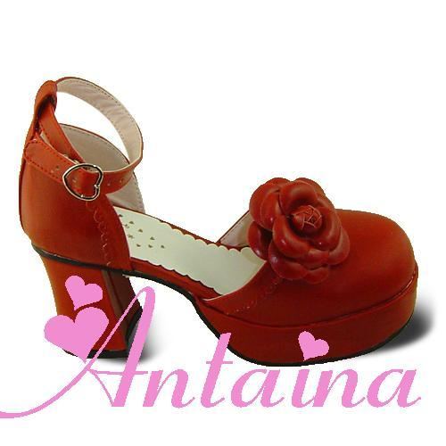 Princess sweet lolita gothic santals custom shoes alice 9987a rose