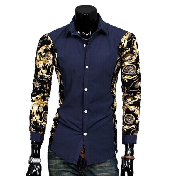 Men's Designer Clothing Brands New Brand Men Shirt