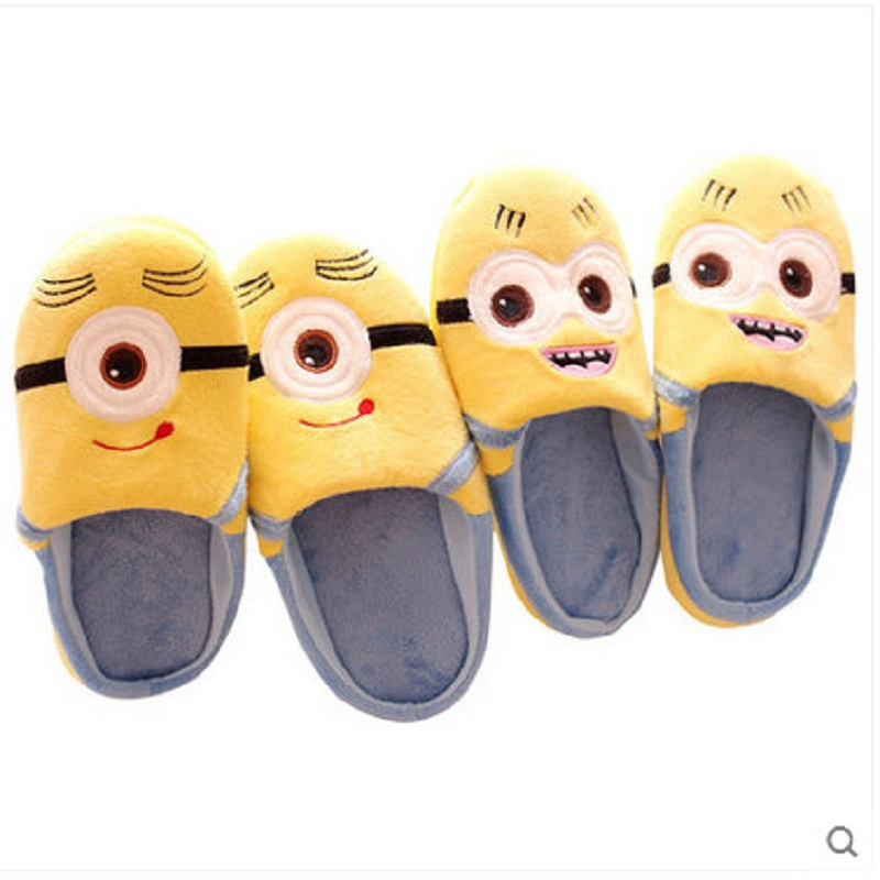 minion bedroom slippers