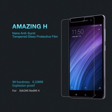 Buy Xiaomi redmi 4 tempered glass film Redmi 4 pro prime screen protector Nillkin glass film Xiaomi redmi 4 Japan imported glass for $7.54 in AliExpress store
