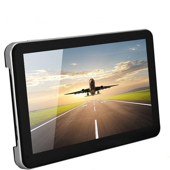 "Factory direct sale 7"" Car gps navigation FM Transmitter 128M / 8GB Memory bundle free latest maps(China (Mainland))"