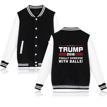 Buy Donald Trump Fashion Jacket Women Black USA Presidential Make America Great Clothes Women Coat for $18.45 in AliExpress store