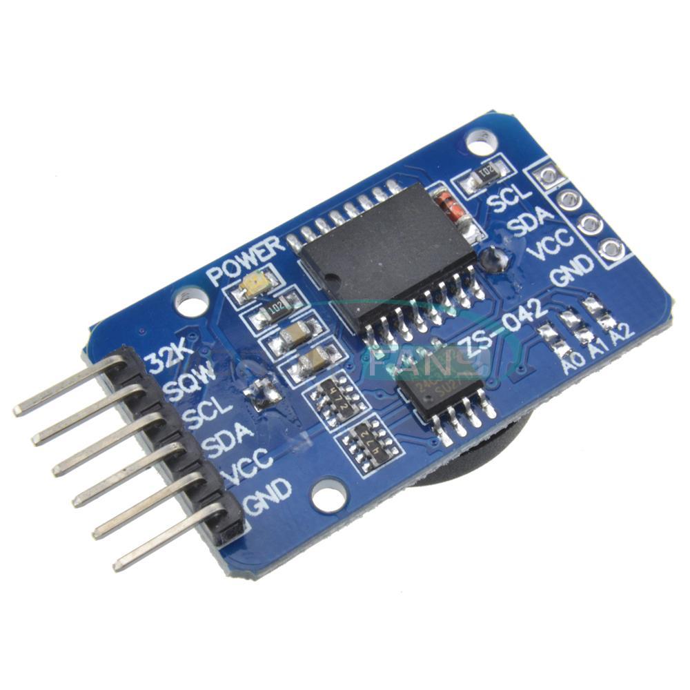 DS3231 AT24C32 IIC High Precision RTC Module Clock Timer Memory Module(China (Mainland))