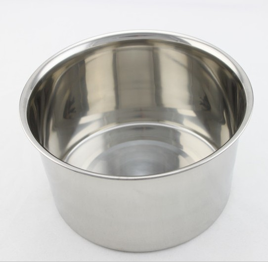 Advanced high quality stainless steel egg pots egg cylinder mixing bucket straight stainless steel cup
