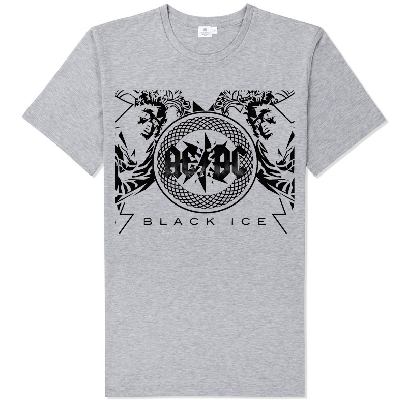 collectable music shop rock fans AC/DC classic highway to hell printing good t shirt rock causal style(China (Mainland))