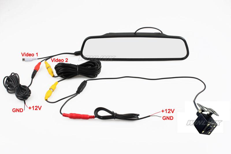 Отзывы Ccd HD водонепроницаемый парковка мониторы система, из светодиодов ночного видения 170 автомобильная камера заднего вида