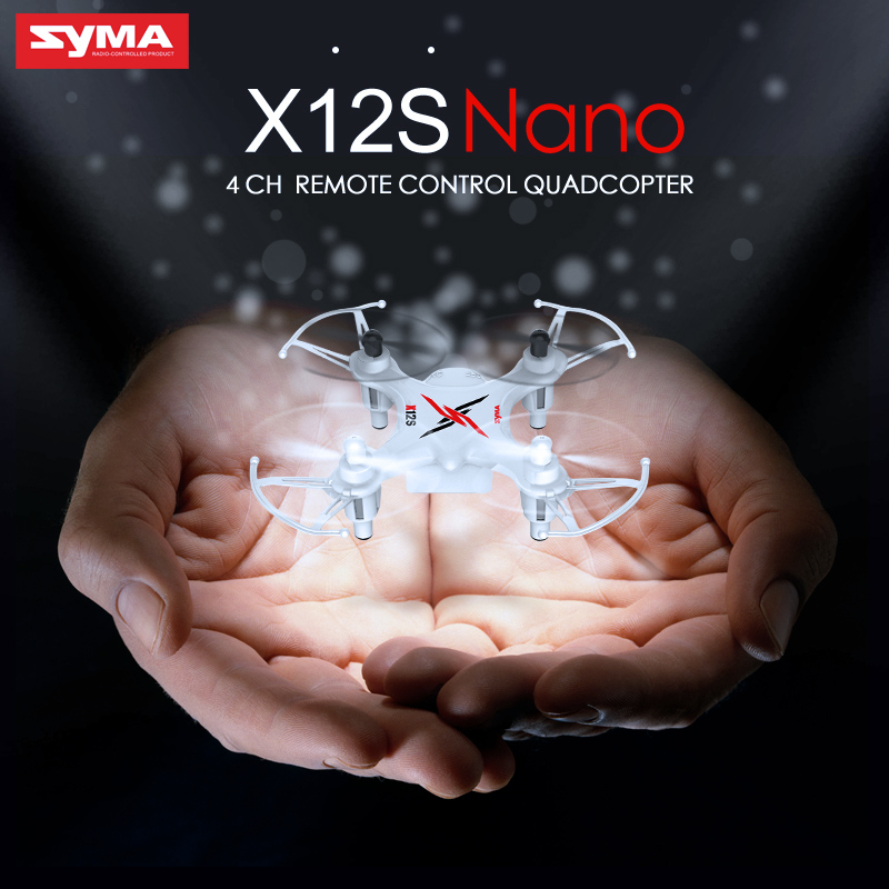 SYMA X12S 4CH 6 Axis 2.4GHz Remote Control Nano Quadcopter Aircraft Mini Drone as good as X5C Toys(China (Mainland))