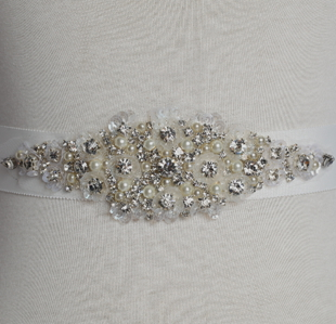 crystal beaded wedding dress waistband wedding dress belt wedding dress sash patterns  HH150Одежда и ак�е��уары<br><br><br>Aliexpress