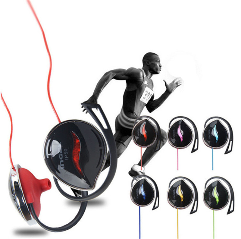 New Fashion Style 3.5mm Ear hook Stereo Earphones Sports Headphone Headsets Bass with mic for iPhone Samsung Xiaomi Sony MP3 MP4(China (Mainland))