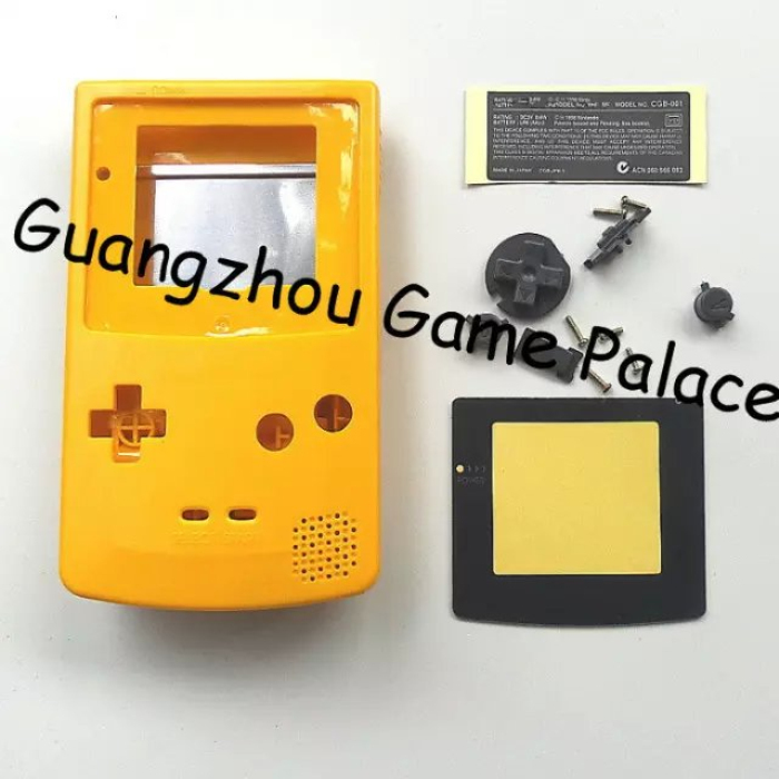 free shipping housing for gameboy color housing shell with