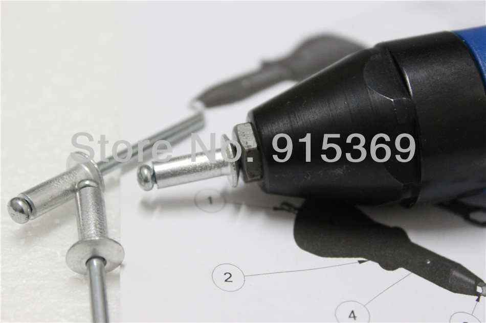 400pcs pop rivet tool kits rivet adaptor for cordless drill electric rivet drill for pop rivets