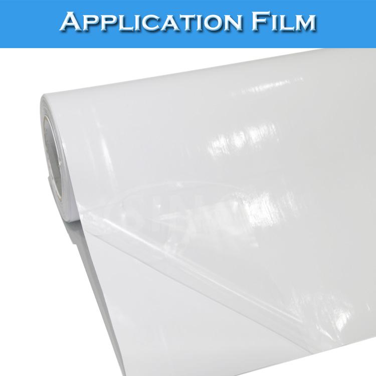 60CMx80M Clear Application Film Vinyl Sticker Transfer Vinyl Film(China (Mainland))