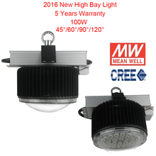 100W LED High Bay Light CREE LED MeanWell Driver 150W Sewing Machine Industrial LED Lamp For LED Lamp Workshop Warehouse Lamp(China (Mainland))