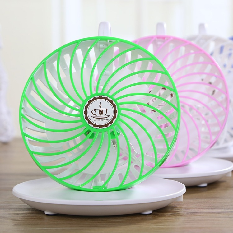 Stylish Design New Office Portable Handheld Mini Fan Strong Wind USB Rechargeable Lithium Battery Desktop Mute Business Gift(China (Mainland))