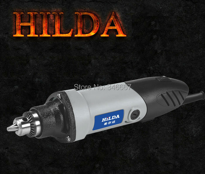 400W mini electric drill with 6 position Variable Speed Dremel Rotary Tools with color box packing mini grinding machine(China (Mainland))