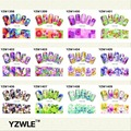 YZWLE New Color Flowers Style Nail Art Water Decals Transfer Stickers Splendid 28 Available YZW X