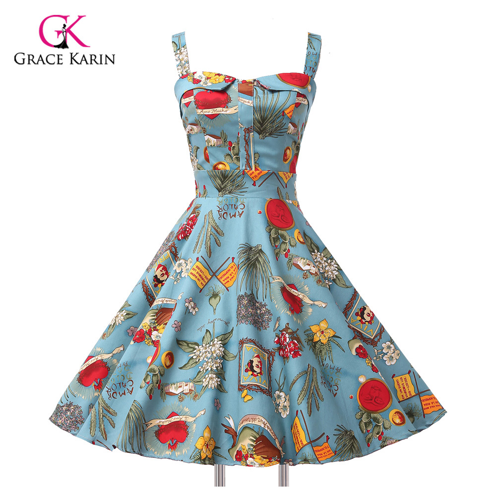 Retro Cocktail Dresses Cheap 36