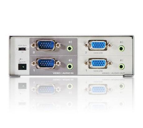 Clearance genuine ATEN ATEN VS0202 binary matrix video switchers two VGA with audio switch(China (Mainland))