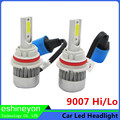 2016 Hot New Car Led Headlight 9007 High Low Beam HB5 Hi lo High Power 110W