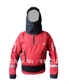 Lenfun Dry Top Kayak Gear canoeing Dry Jacket Semi Dry Suits for Whitewater Kayak Sailing Fishing Watersports  Factory Supply