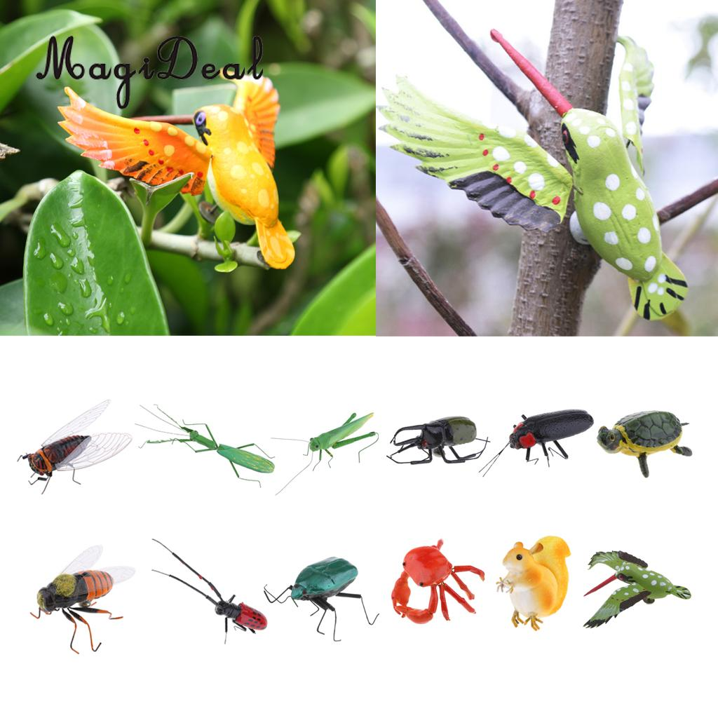 Mosquito Artificial Decoración de Jardín Ornamento Accesorios de Halloween señuelos de pesca con mosca