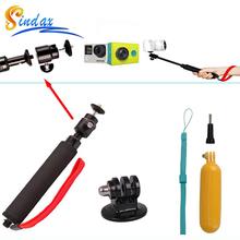 Buy Gopro Xiaomi yi 4k Waterproof Monopod Selfie Stick+Float Bobber Selfie Monopod Gopro hero 3/4 Xiaomi Yi II Accessories for $7.02 in AliExpress store