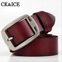 Buy 2017 Hot Style Belt Designer Belts Men High Cow Genuine Leather Vintage Pin Buckle Belts Men Brand Mens Belts Luxury for $9.77 in AliExpress store