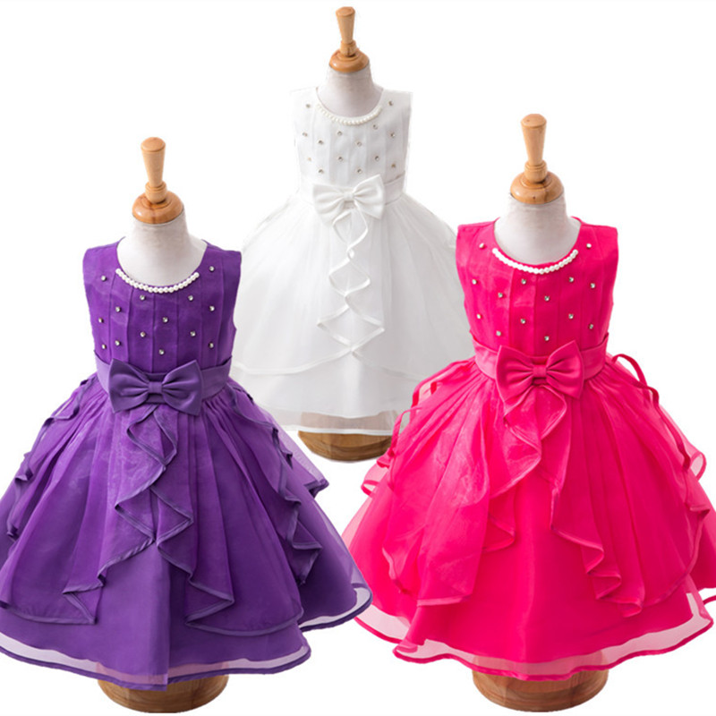 20# Handwork Beading Children Girls Wedding & Party Princess Dress / Kids Dance Performing Evening - Nights Mistress store