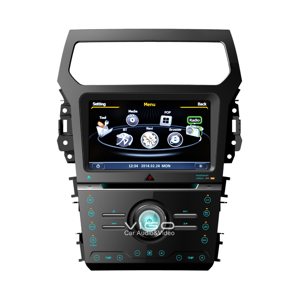Auto Stereo GPS Navigation for Ford Explorer 2013 Car Radio Satnav DVD Player Multimedia Sat Nav