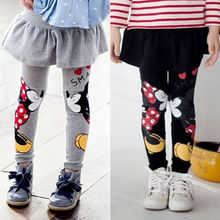 2015 neue mädchen legging mädchen-rock-hosen-kuchen-rock baby mädchen winter warme leggings kinder Mädchen Rock hose bootcut Für 2-7Kid(China (Mainland))