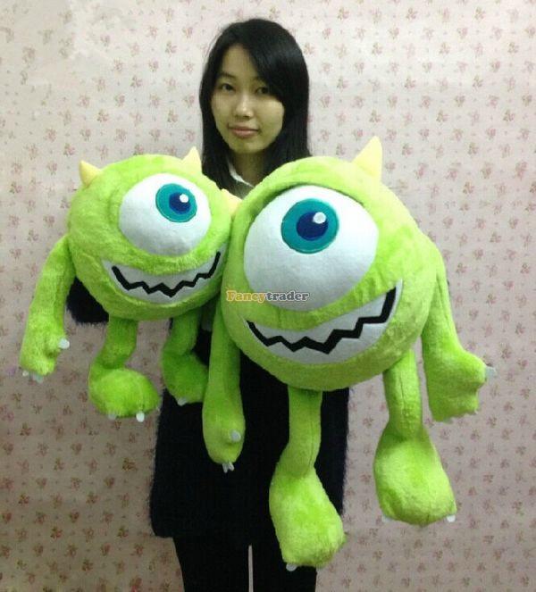 Fancytrader 30 / 75cm Monsters University Giant Cute Soft Giant Stuffed Plush Mike Wazowski, Free Shipping FT50277<br><br>Aliexpress