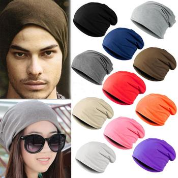 Unisex Women Men Knit Ski Crochet Multi-color Winter Warm Hat Cap Beanie Hip-Hop Hats