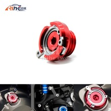 2016 new M20*2.5 motorcycle CNC Aluminum engine oil cup  FOR YAMAHA T-MAX500 MAX500 T-MAX530 TMAX 500 honda hornet cb600f vfr