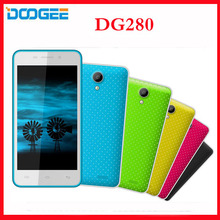 Original DOOGEE LEO DG280 3G Smartphone Android 4.4 MTK6582 1.3GHz Quad Core Mobile Phone Dual SIM 1G RAM 8G ROM  Free shipping