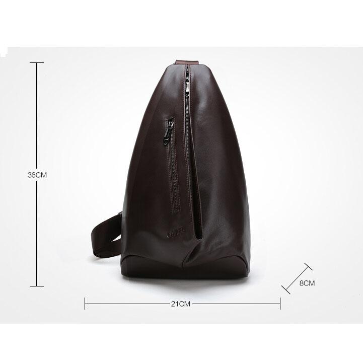 Camel genuine men leather handbags chest pack Europe casual leather bag men's singles shoulder bag Messenger bag fashionman bag(China (Mainland))