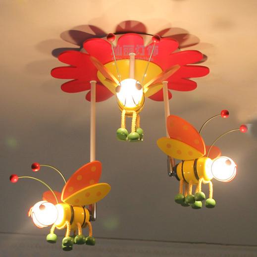 kids pendant lighting.  pendant kid s bedroom 3 wooden bees pendant light free shipping princess living  room cartoon lamp on kids lighting u