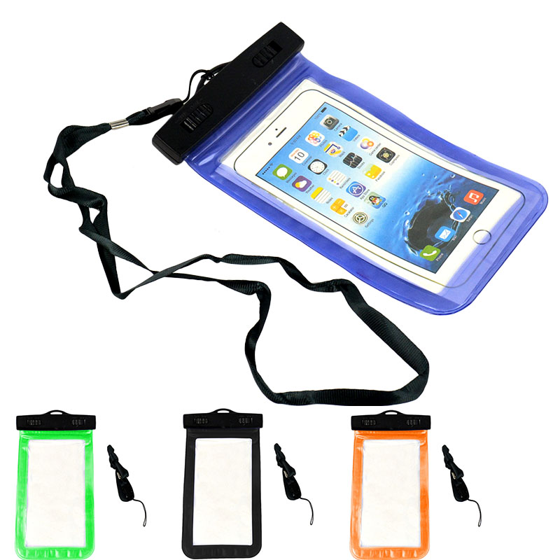 Waterproof Underwater Pouch Dry Bag Case Cover for iPhone Cell Phone Touchscreen(China (Mainland))